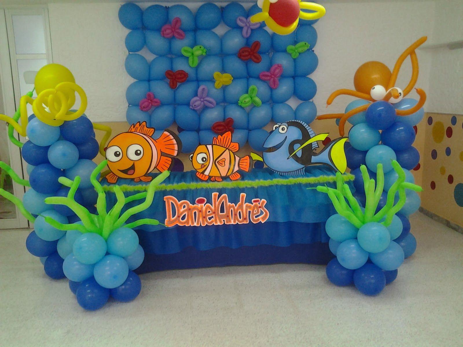 decoracion infantil nemo