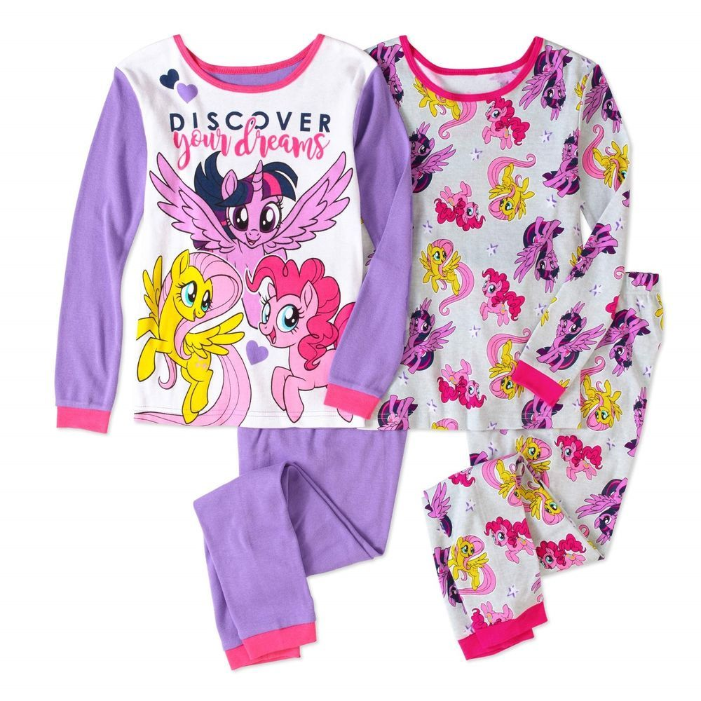 b8d419e016e1 Girls My Little Pony The Movie 4pc Pajamas Set New with Tags Size 8 Kids  BNWT #Hasbro #PajamaSet