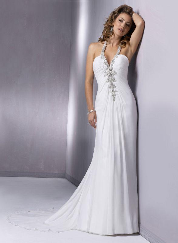 найти свадебное платье по фото | Шифоновое свадебное ...