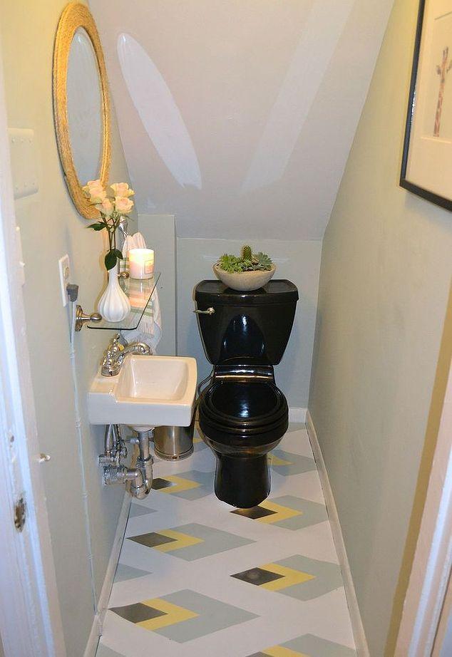 painted linoleum bathroom floor ideas flooring tile paint