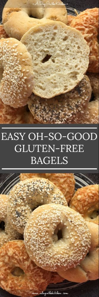 Easy Oh-So-Good Gluten-Free Bagels | A DAY IN THE KITCHEN #glutenfreebreakfasts