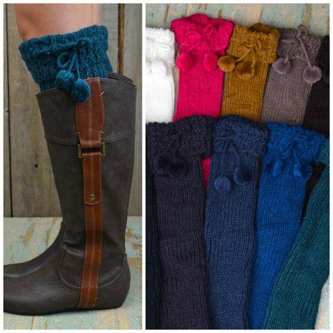 Wolford Tasseled Bootsock Leg Warmers | Amazing Lace