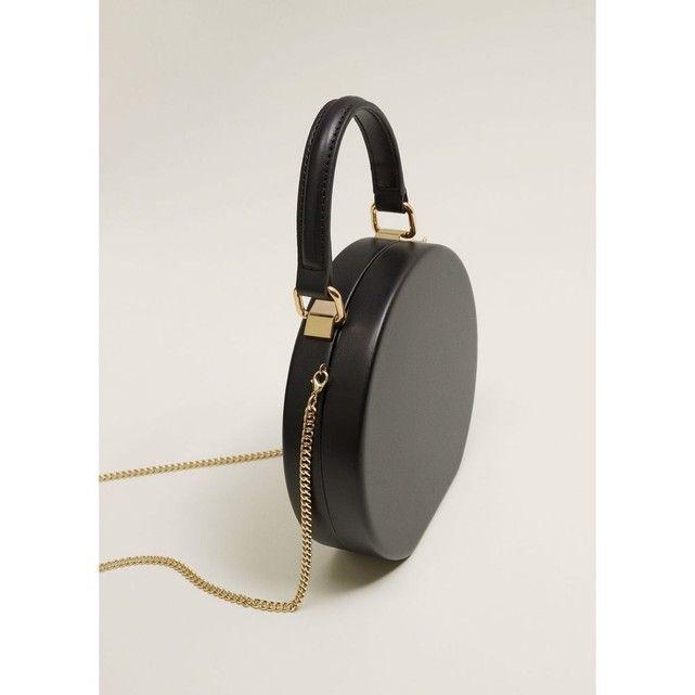 gamme exceptionnelle de styles et de couleurs prix réduit 100% de qualité Sac a main femme rond noir anse chaine dore Mango | Mode ...