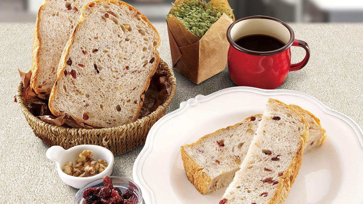 ZOJIRUSHI - Home Bakery Maestro: Vegan Cranberry Walnut ...