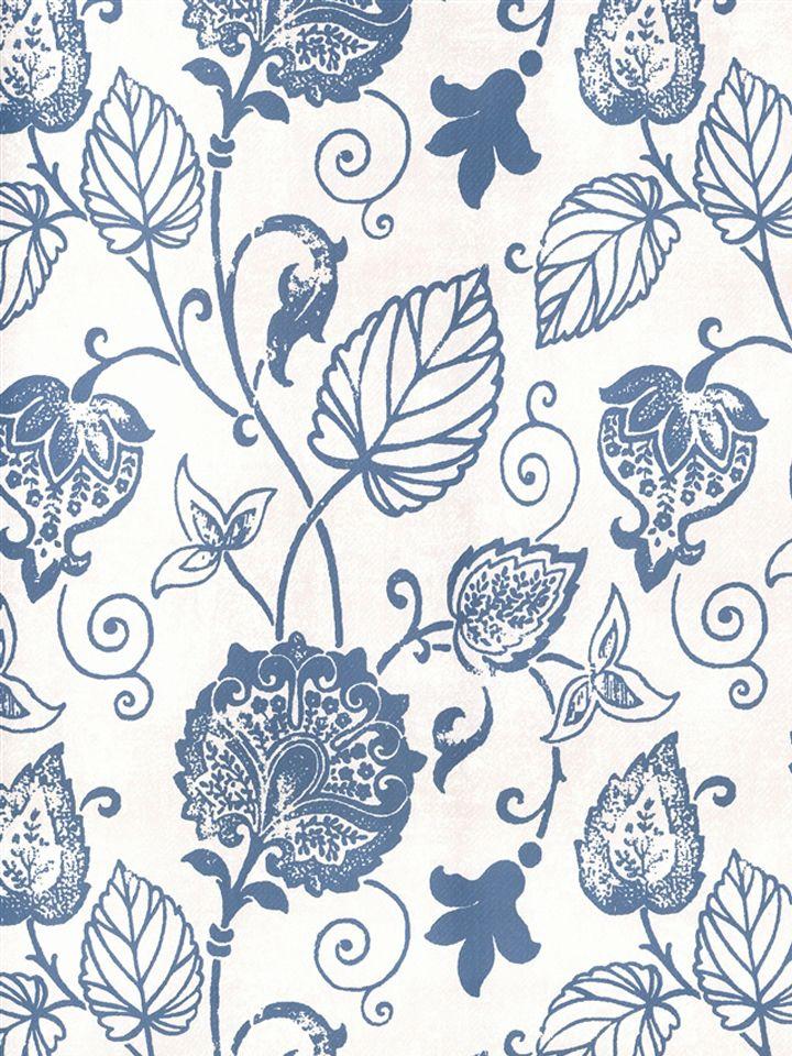 Blue and white floral vine wallpaper pattern number 51624 blue and white floral vine wallpaper pattern number 51624 book name scandinavian vintage manufacturer sancar wallcovering inc mightylinksfo