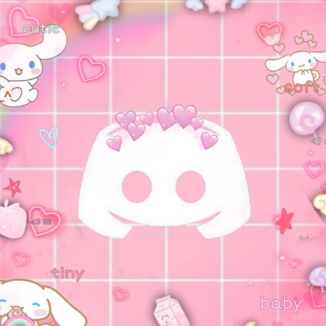 Discord Icon Pink Aesthetic In 2020 Pink Aesthetic Pink Music Cute Icons