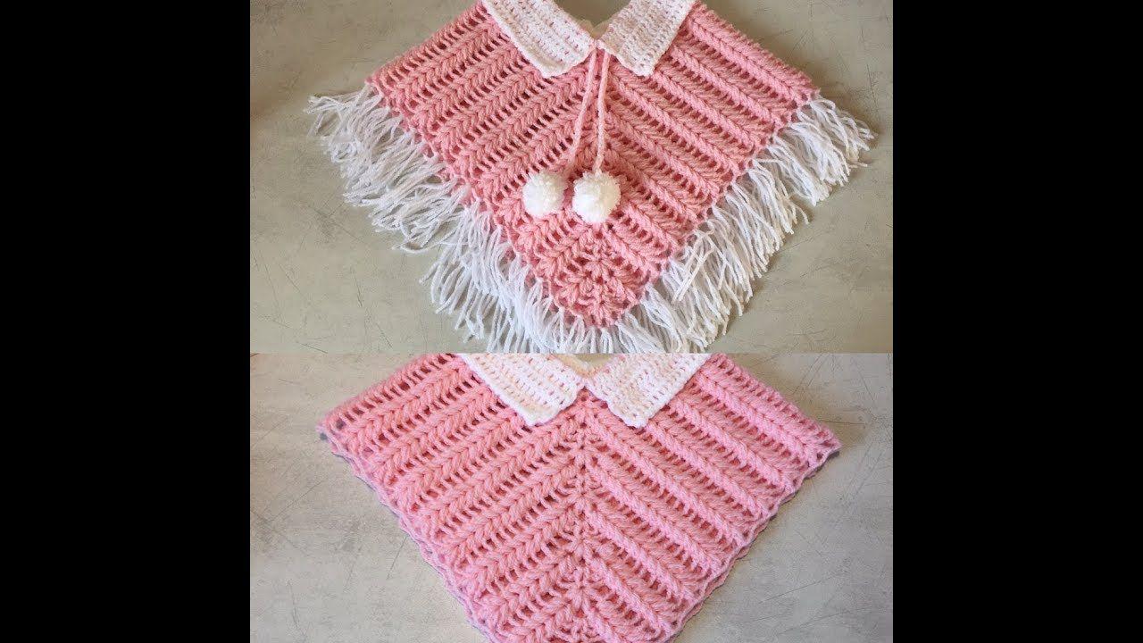 Tuto Poncho Cape Au Crochet Youtube διάφορα χειροποίητα βρεφικά