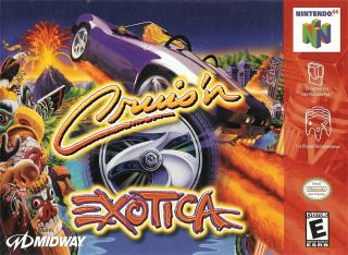 Cruis N Exotica Nintendo 64 Nintendo 64 Video Game E Jogos