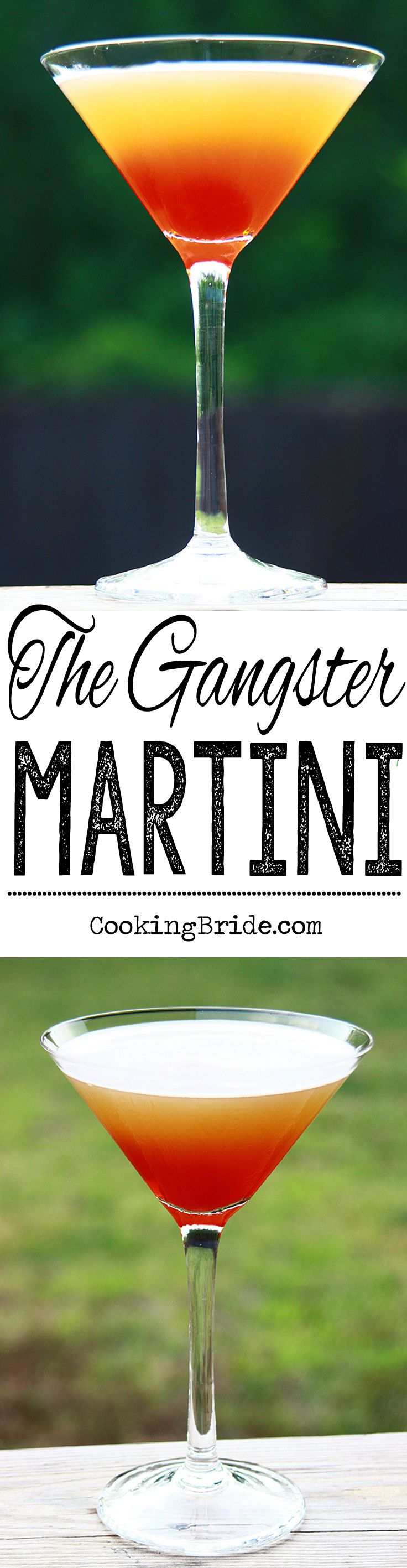 The Gangster Martini | Recipe | Pineapple juice, Martinis and Juice
