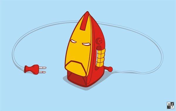 O verdadeiro Homem de Ferro!