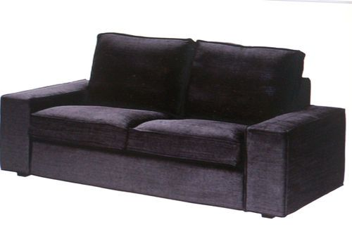 New Ikea Kivik 2 Seat Sofa Cover Set Replacement Covers In Tullinge Grey Brwn Ebay