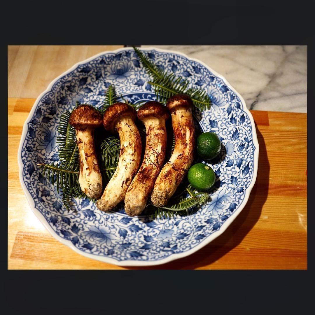 #松茸 to be prepared in a Dobin-mushi with #Amadai fish @ Sansho  Daikanyama #ronomnom_kaiseki by ronomnom