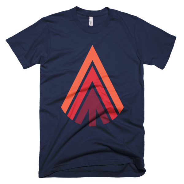 acicular|adj|shaped like a needle This classic tee that has a light feel. Made of 100% ringspun cotton.  100% supersoft, ringspun cotton Waterbased, ecofriendly inks Manufactured and printed in the USA  For a more contoured fit you may want to order a size down