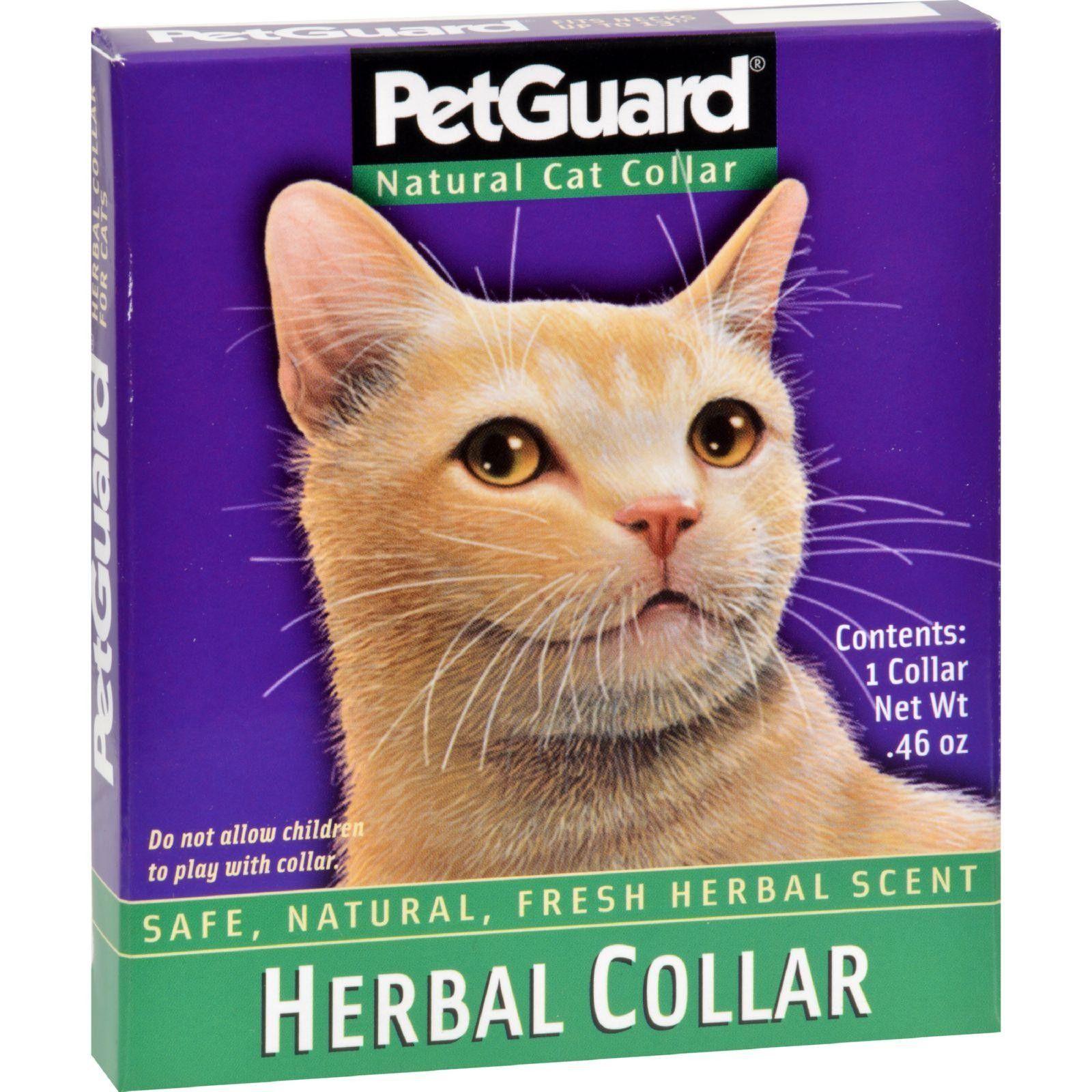 Petguard Herbal Collar For Cats 1 Collar Cat Fleas Cat Collars Cat Pet Supplies