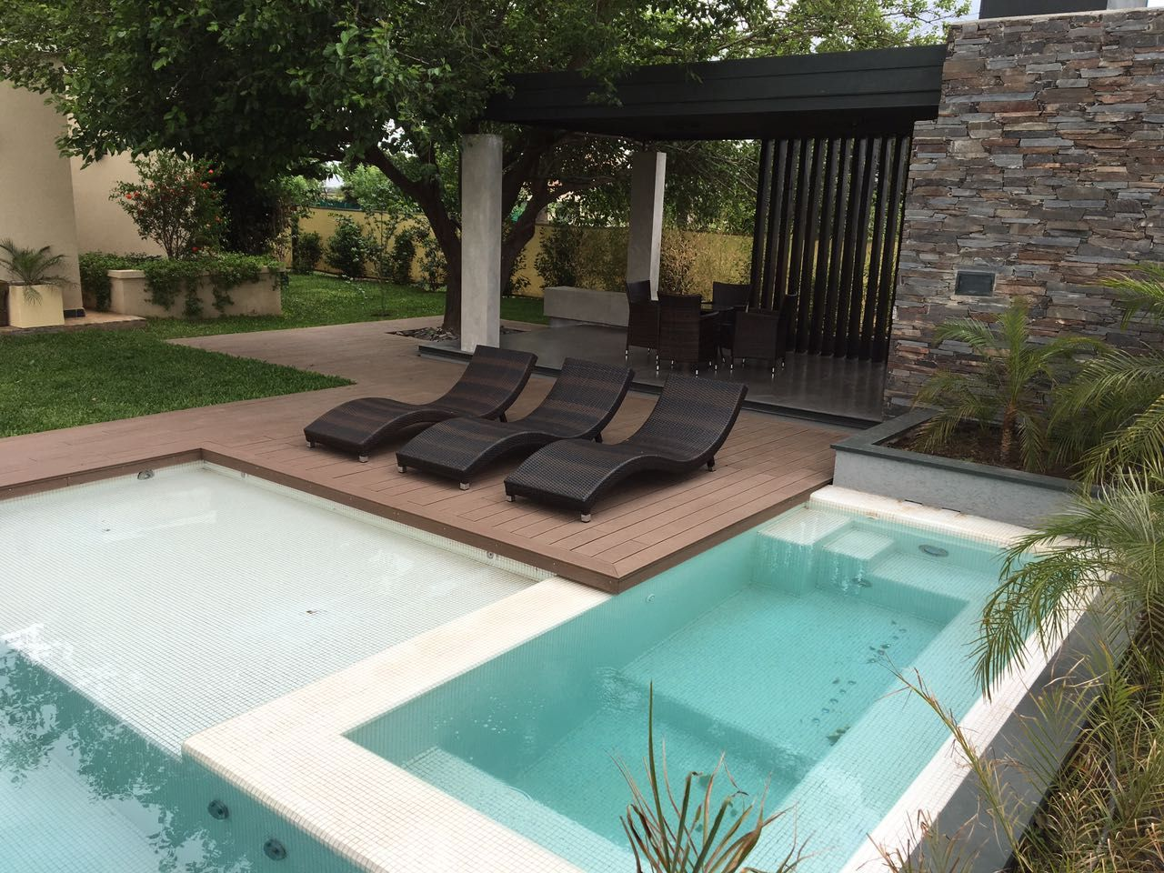 Piscina Scualo Tendencia Wellness Dise O Exclusivos  ~ Piscinas Para Patios Pequeños Ideas