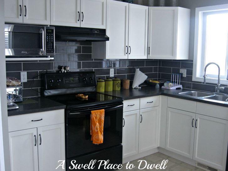 maybe a darker backsplash tile? Otherwise white! | Project Larrabee ...