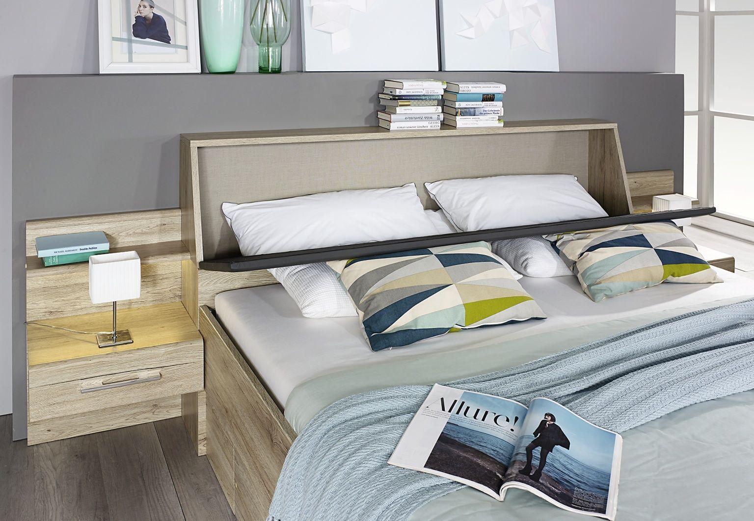 Bensheim Schlafzimmer komplett mit Bett & Schrank von