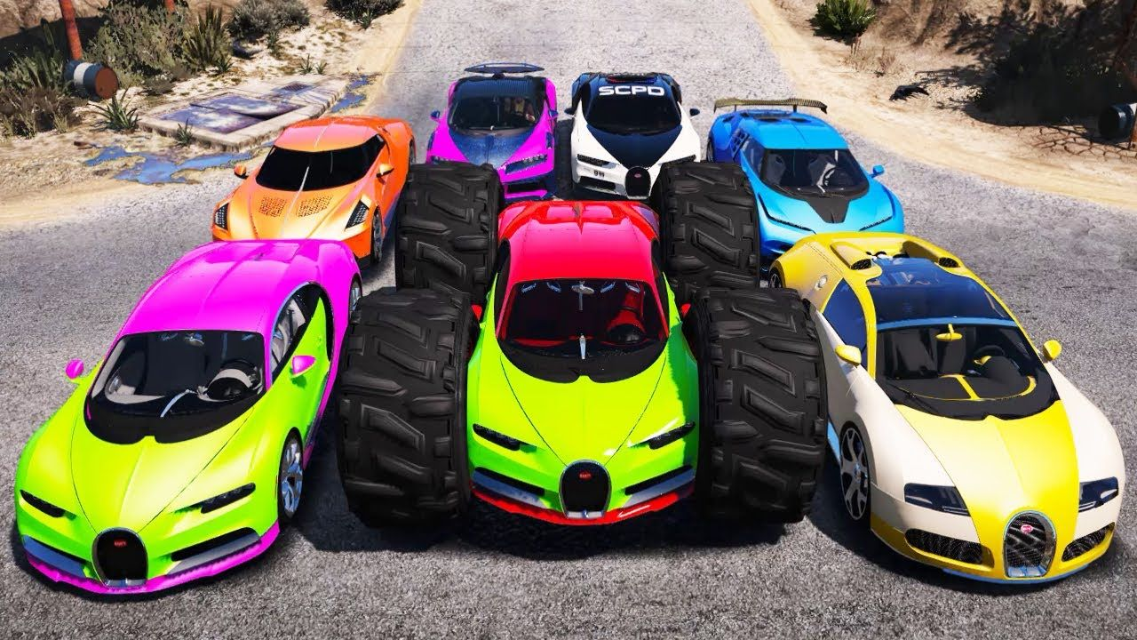 Gta 5 Stealing Bugatti Luxury Cars With Trevor Real Life Cars 10 In 2020 Life Car Luxury Cars Bugatti