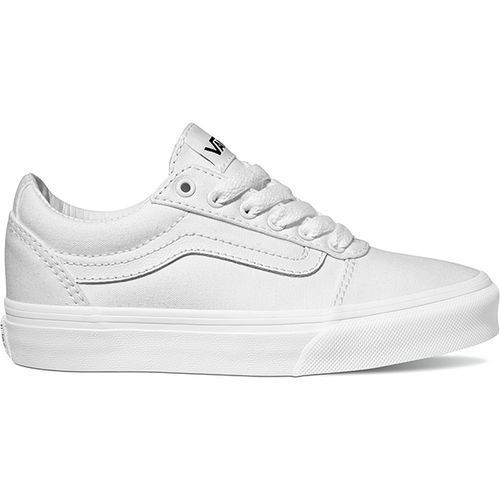 97a219f656 Vans Girls  Ward Low-Top Shoes (White White