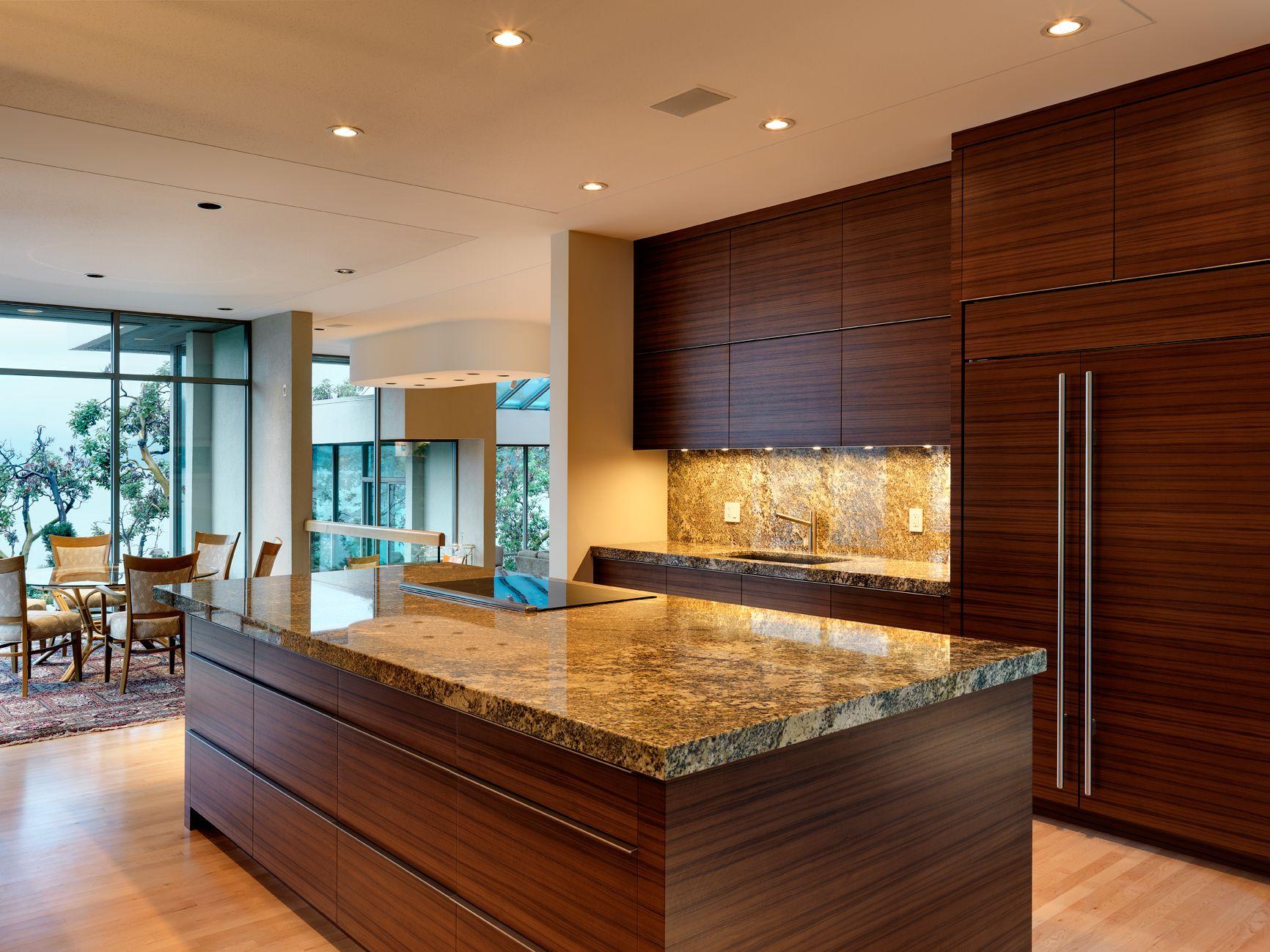 Kitchen Countertops In Star Beach Granite. Photo By Vince Klassen  Photographic