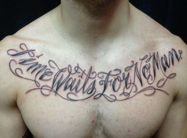 Inspirational Quotes Tattoo Ideas: Inspirational Quotes Chest Tattoos For Men Http