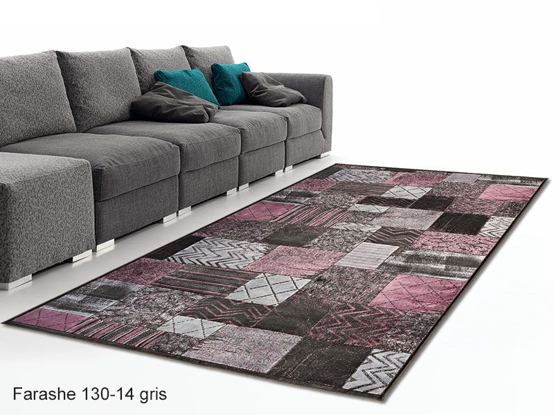 Alfombra patchwork farashe 130 universal xxi realizada en - Alfombras patchwork vintage ...