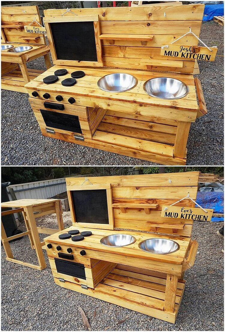 You Can Stylishly Create The Fantastic Mud Kitchen Through The