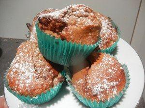 Chocnut Banana Cupcakes