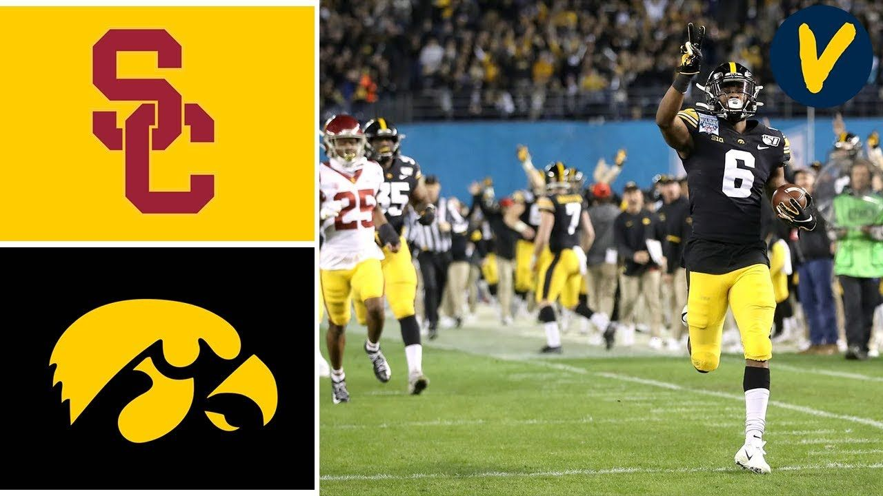 22 Usc Vs 16 Iowa Highlights 2019 Holiday Bowl Highlights College Football Youtube College Football Football Youtube Iowa Hawkeye Football