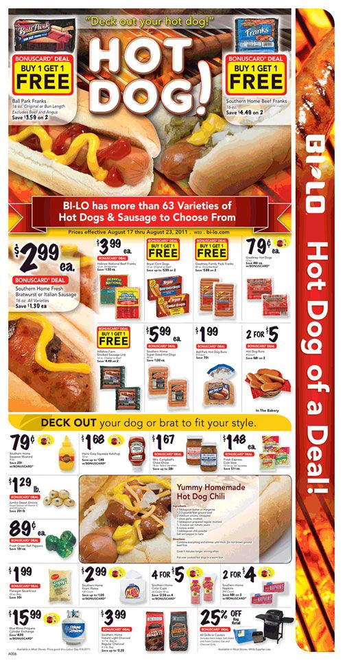 BiLo Weekly Circular Grocery Store Grocery Coupon Network