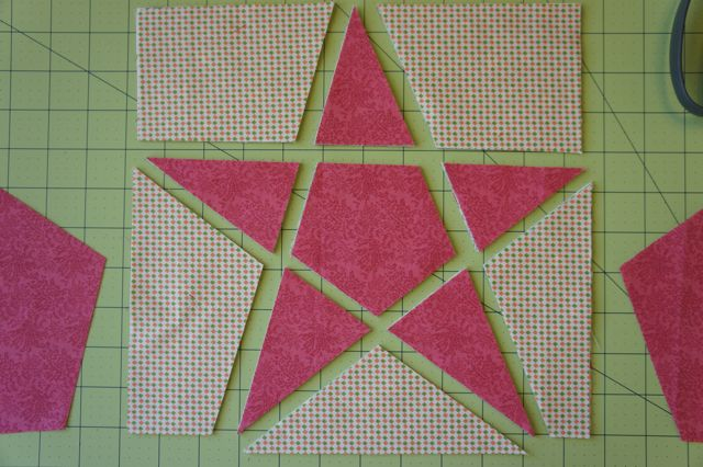 Best Tutorial — 5 Point Star Quilt Block Technique 2 Jmday 400 x 300