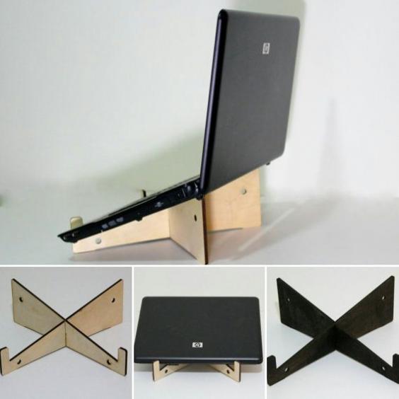 Station daccueil de table pour votre ordinateur portable