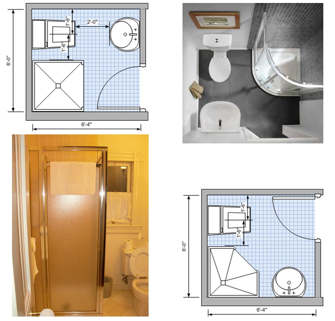Compact three-fixture plan