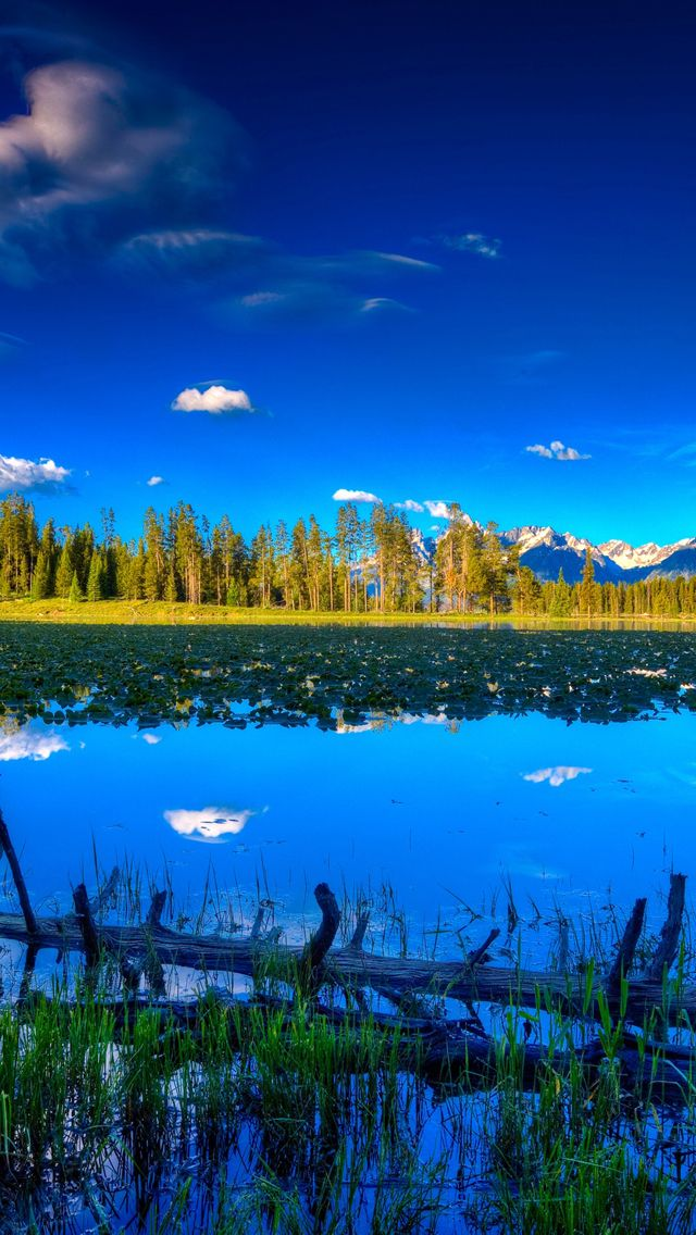 Blue Landscape Iphone Wallpapers See