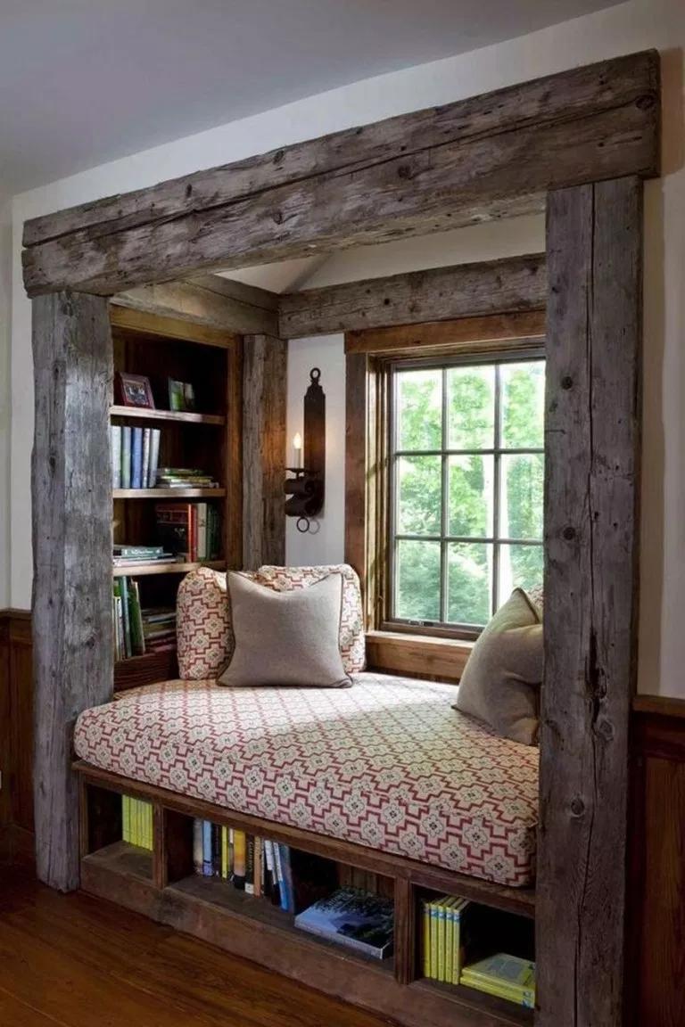 ✔51 gorgeous tiny house interior design ideas 50 #rustichouse