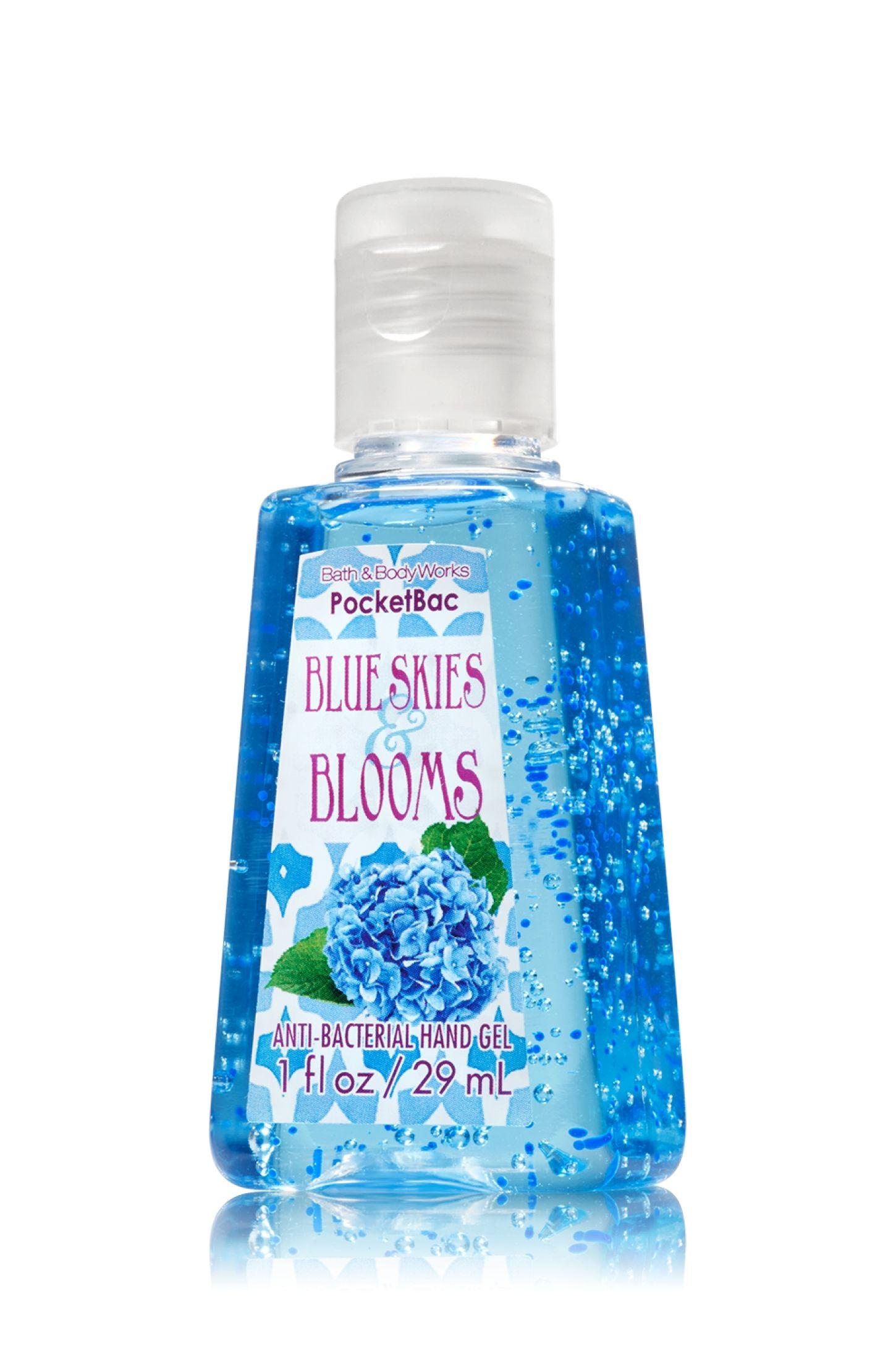 Blue Skies Blooms Bath Body Works Pocketbac Sanitizing Hand