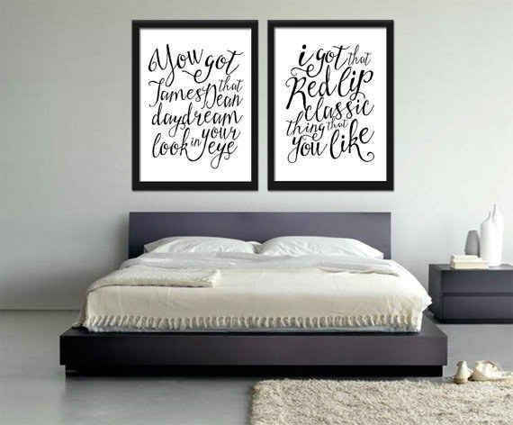 T Swift Lyric Wall Art Bedroom Wall Decor Above Bed Trendy Bedroom Wall Decor Bedroom