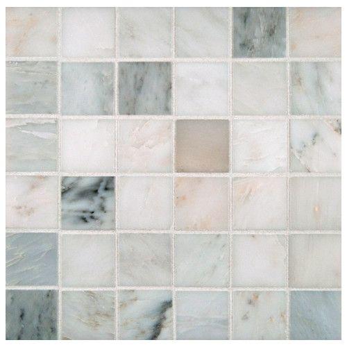 Arabescato Carrara 2 X 2 Natural Stone Grid Mosaic Wall Floor Tile Marble Mosaic Marble Mosaic Tiles Mosaic Wall