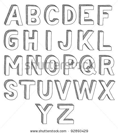 Cool Fonts To Draw By Hand