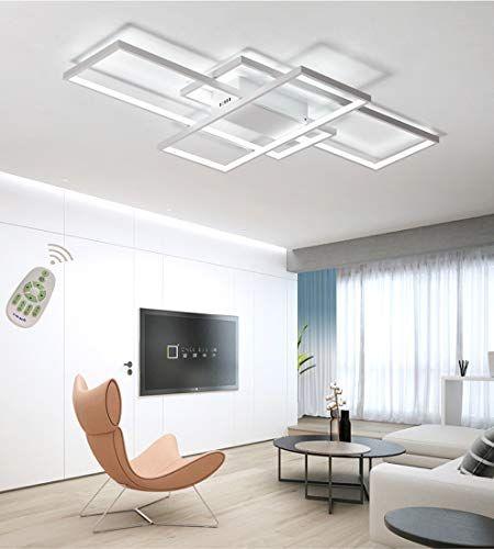 Plafoniera A LED Soggiorno Dimmerabile Soffitto Lamp