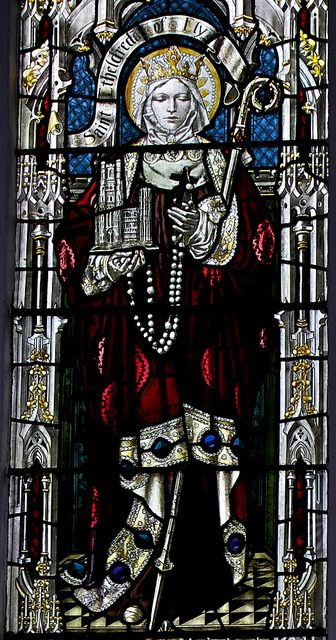 Window Detail: St Etheldreda of Ely by IanAWood, via Flickr