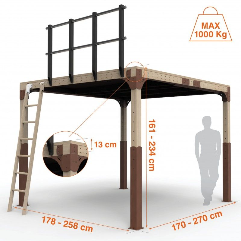 Altillo completo de madera tw8 el altillo tw8 completo es - Altillo de madera ...