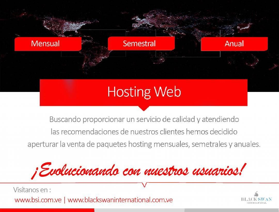 """Evolucionando con nuestros clientes """"Buscando proporcionar un servicio de calidad y atendiendo las recomendaciones de nuestros clientes hemos decidido aperturar la venta de paquetes de hosting mensuales semestrales y anuales"""". #Emprendedores #Emprendedor #Negocios #Empresas #Venezuela #BSIVenezuela #BlackSwanInternational #DesarrolloMultiplataforma #DiseñoWeb #WebDesign #DesarrolloWeb #Web #Dominios #Hosting #Love #Instagood #International #Margarita #IslaDeMargarita #MargaritaIsland…"""