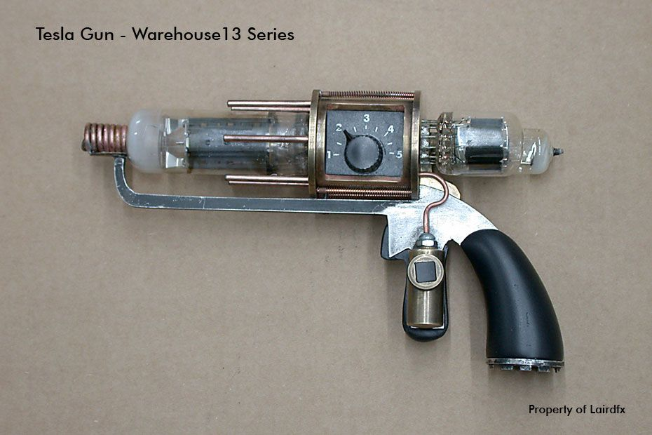 Tesla gun | Costume ideas | Steampunk weapons, Guns, Sci fi weapons