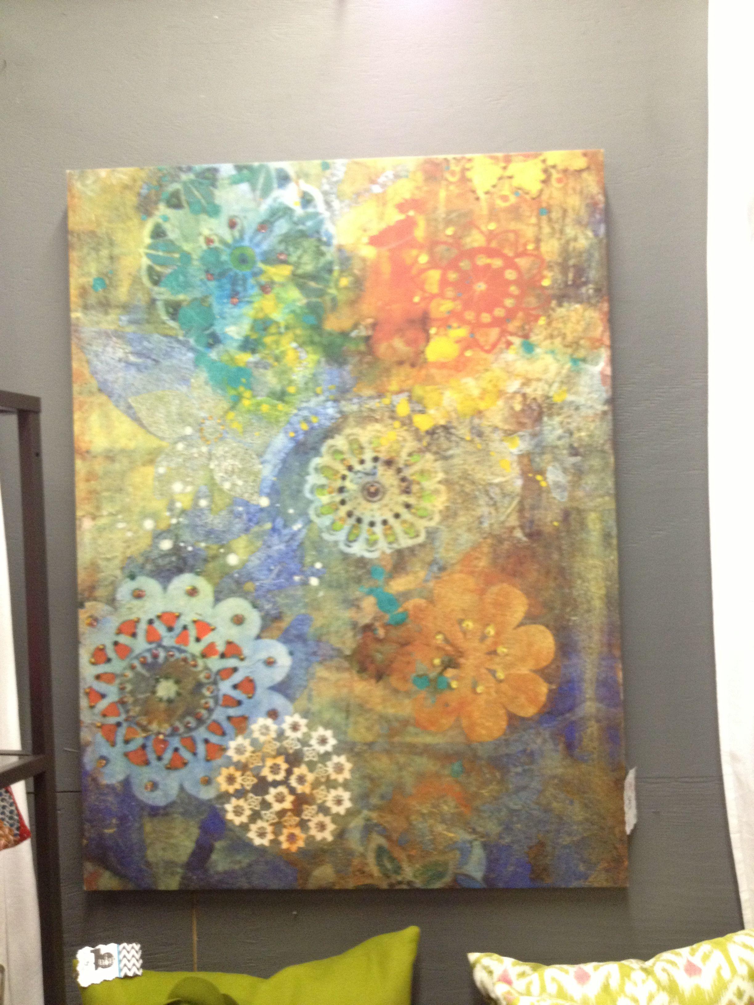 Boho Painting Art 3d