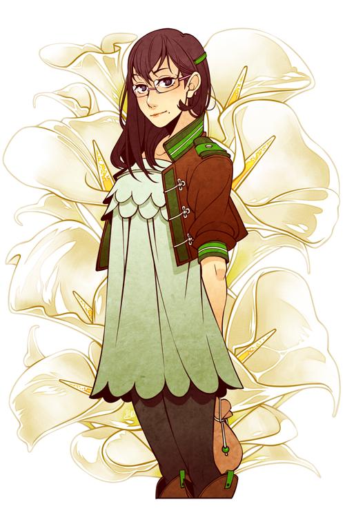 Haikyuu!! - Kiyoko Shimizu (calla lily)