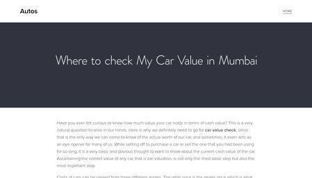 Where To Check My Carvalue In Mumbai In Mumbai Mumbai Car