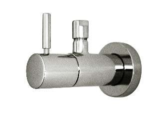 Harrington Brass Works Retro Lavatory Toilet Supply Valve Finish