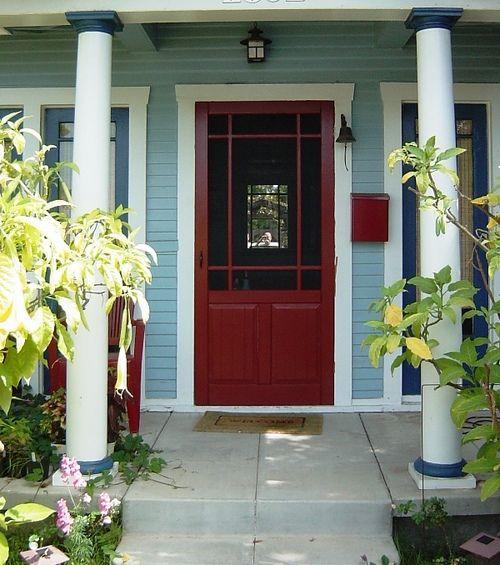 front doors with storm door pixels outside misc
