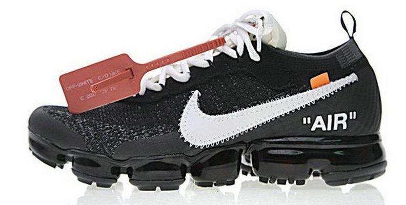 Off White X Nike Aa3831001 Vapormax Black White Hot Sell Shoe ... 48e710bc7f
